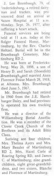 Brumbaugh, J. Lee 1977