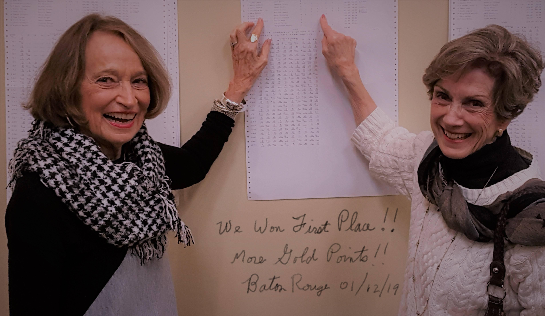 Mary Reyner and Marlene Swain