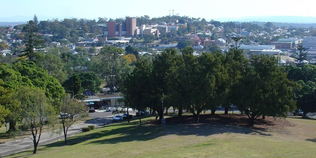 View over Ipswich