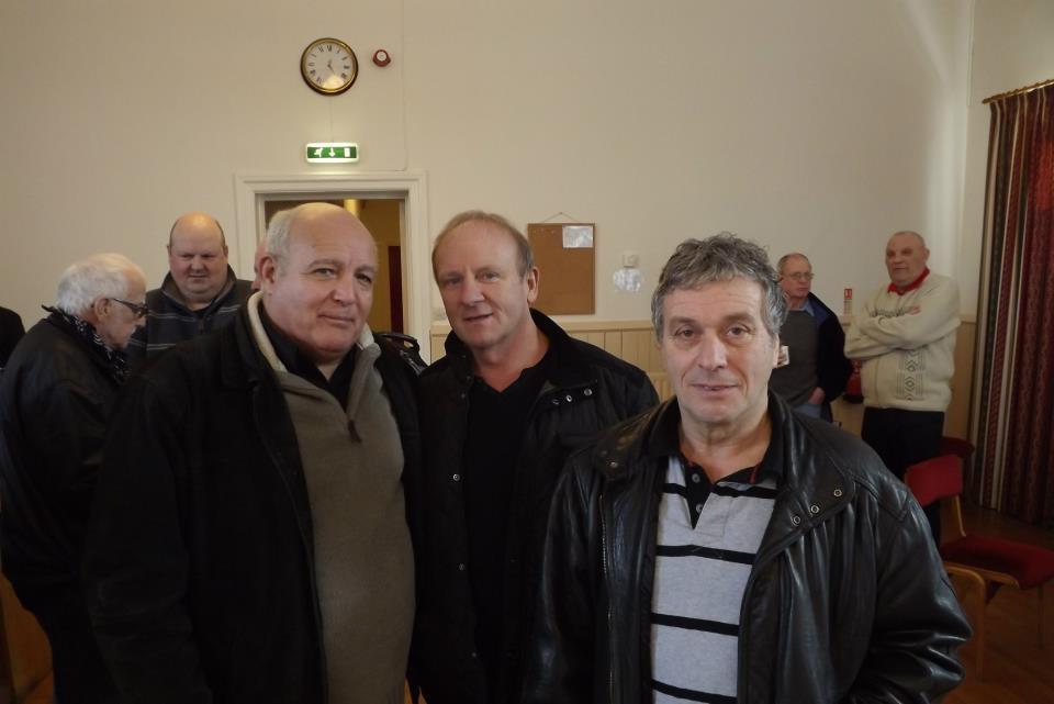 Jackie Turpin, Mal Sanders, Steve Grey