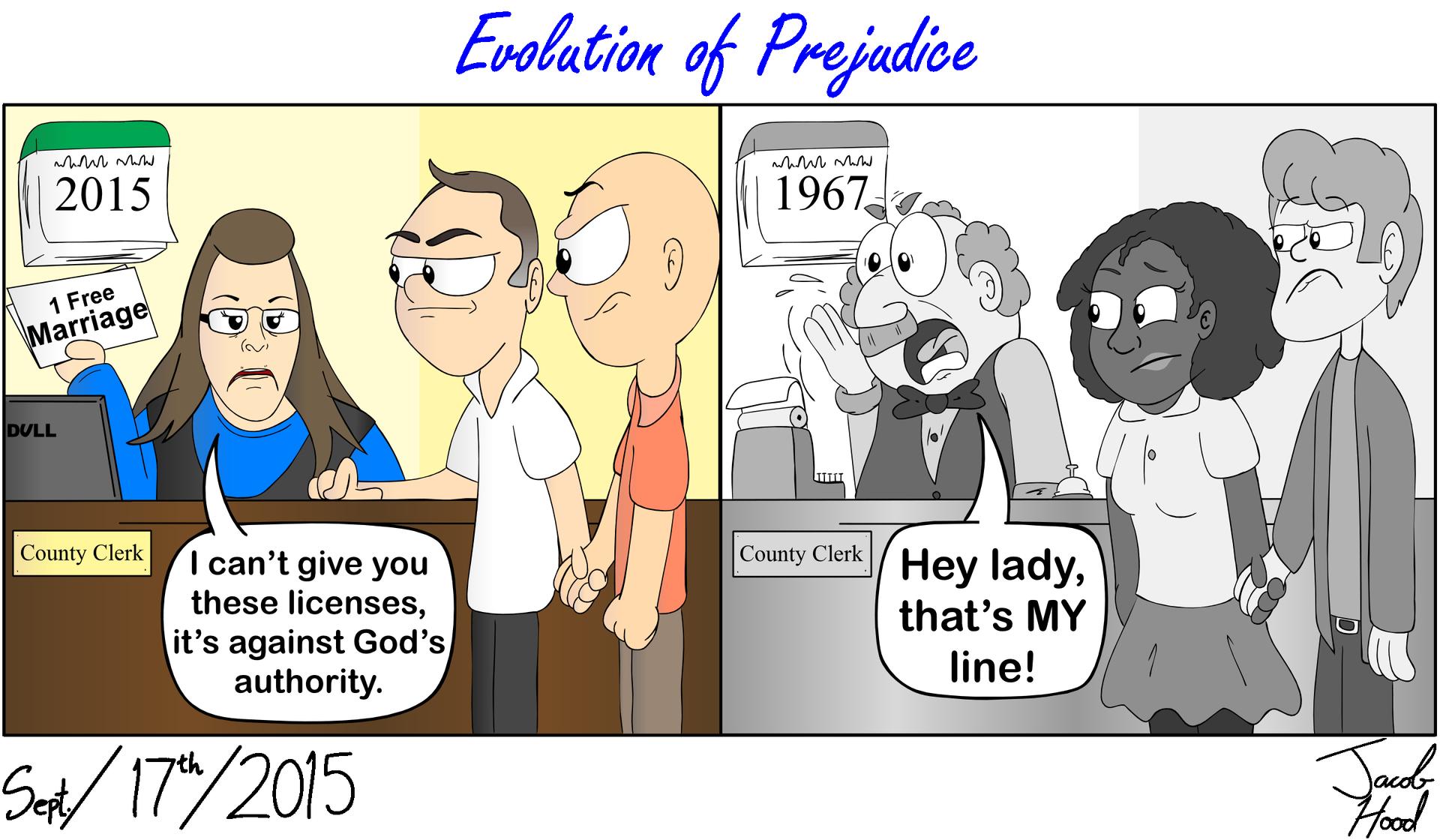 Evolution of Prejudice