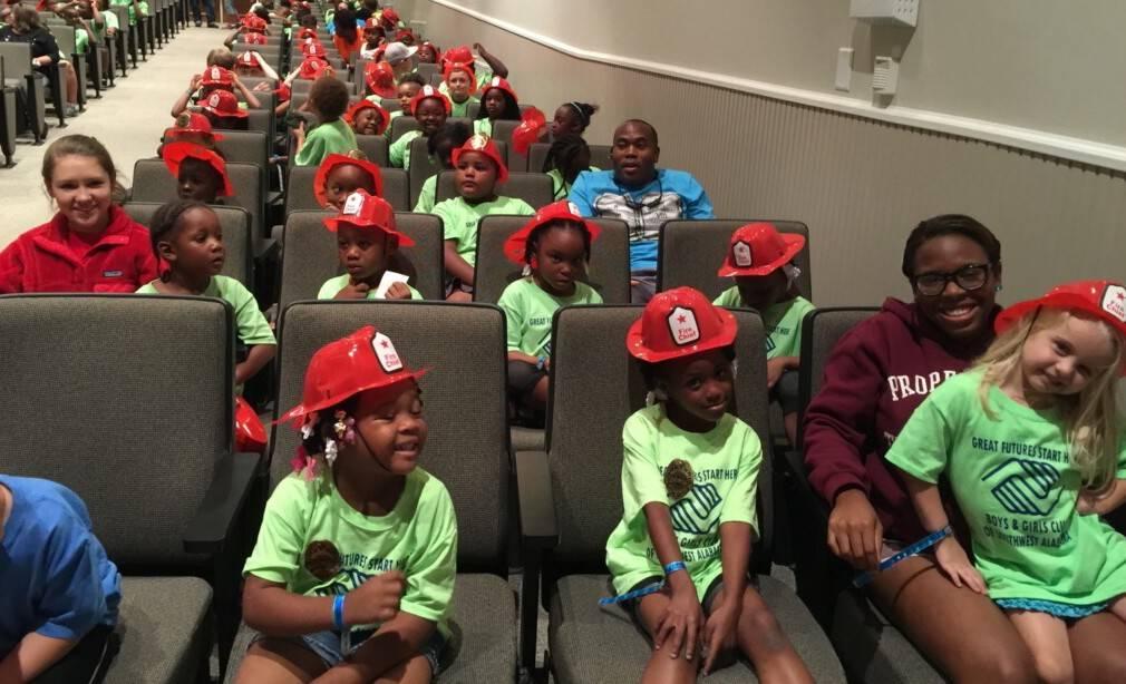 Future fire fighters