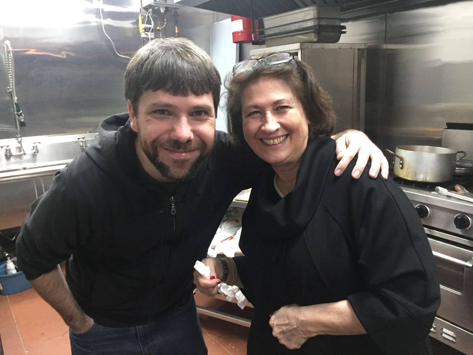 Alicia and Happy Chef