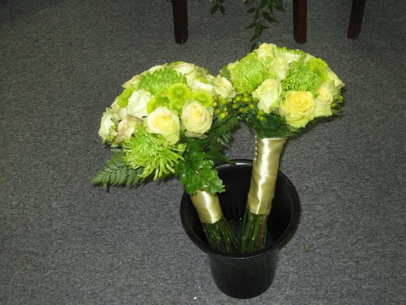 2 Bridesmaid's Bouquets