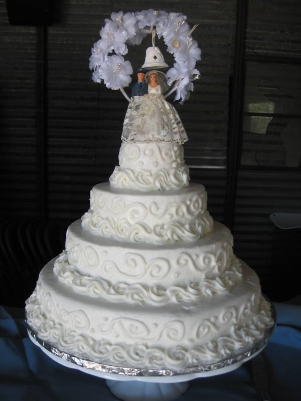 1960's Replica Wedding Cake