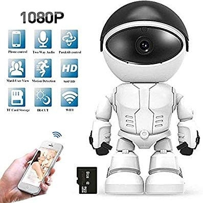 Hd Wirless Robot IP Camera