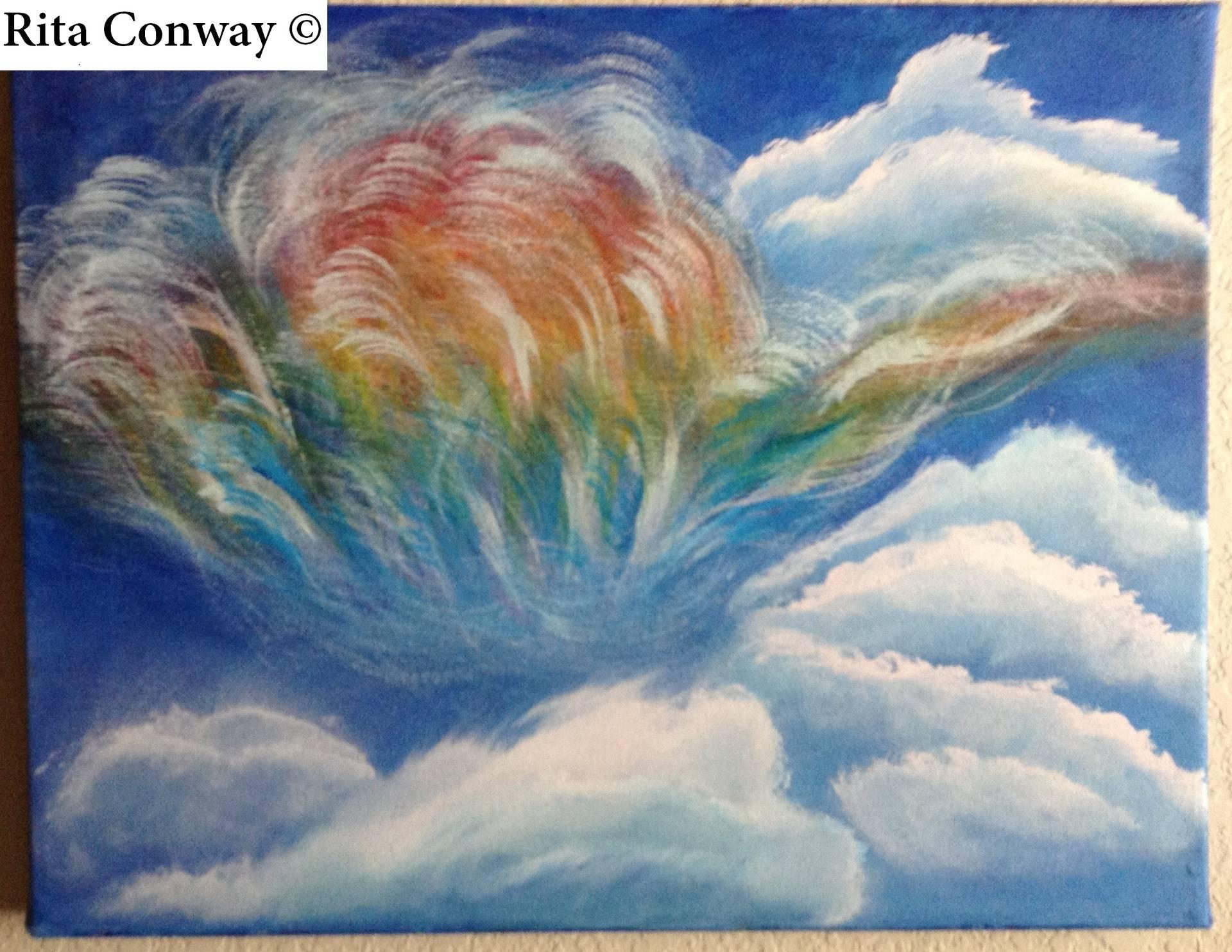 Sky Fire Rainbow