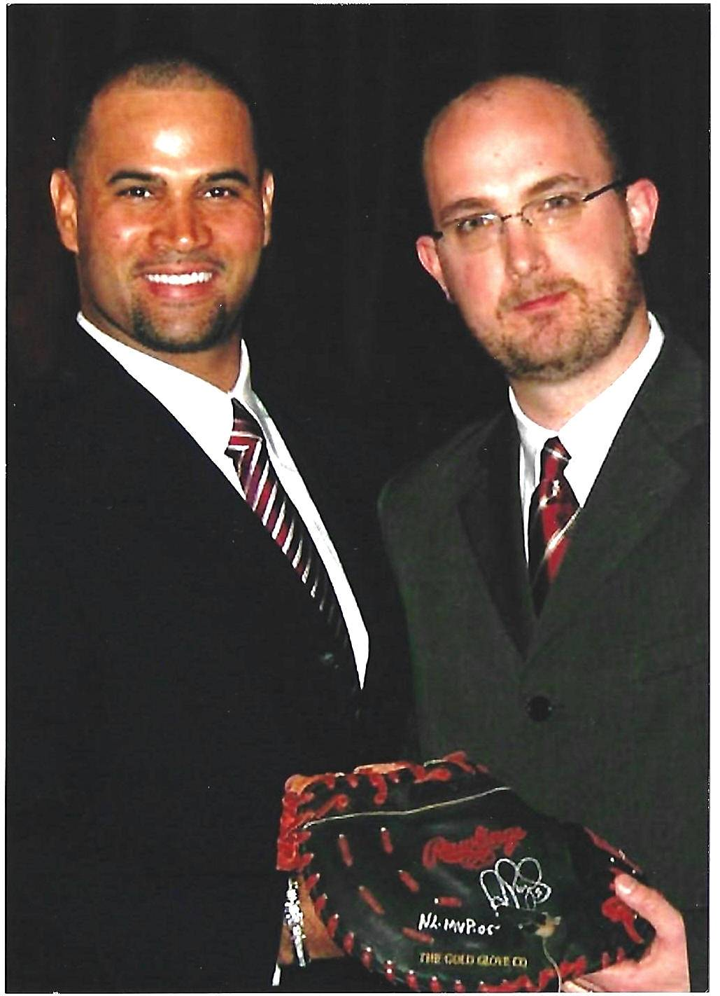 The Game Used Albert Pujols Primer By Rob Steinmetz