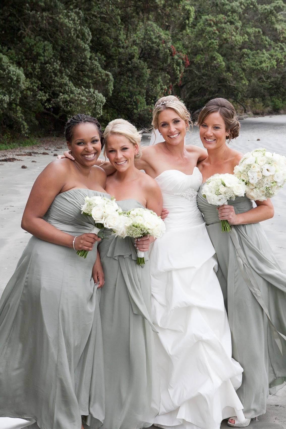 Waiheke wedding on the beach