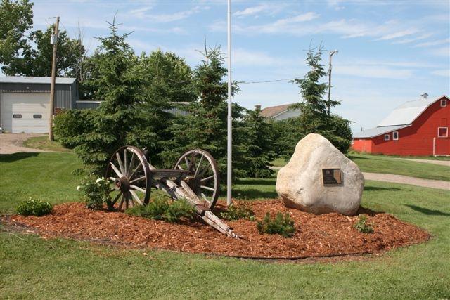 Centennial Farm plaque
