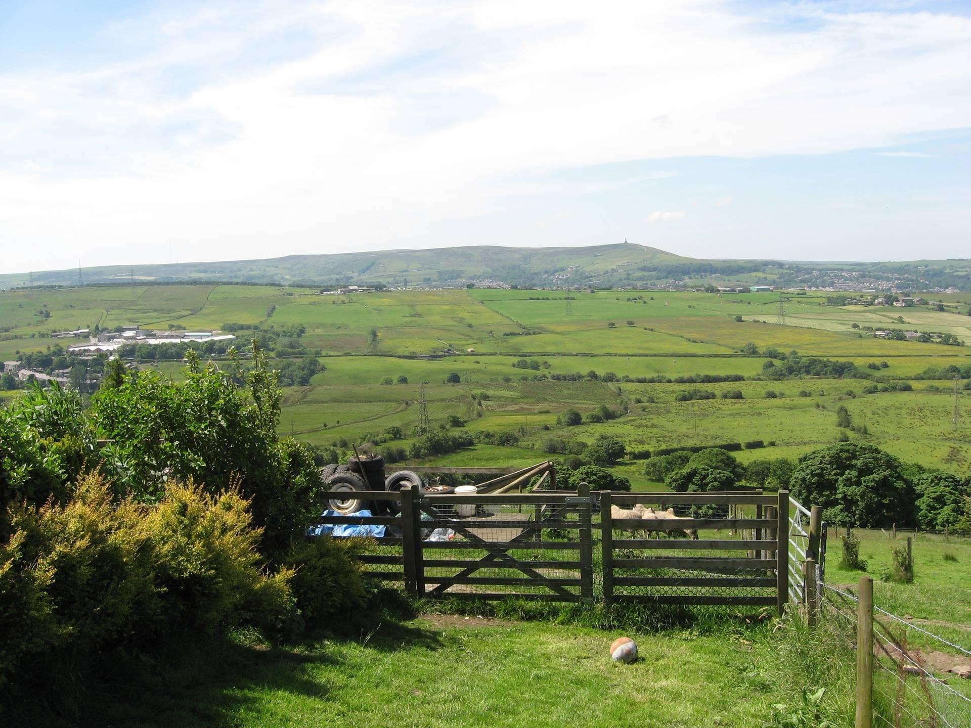 View towards Darwen
