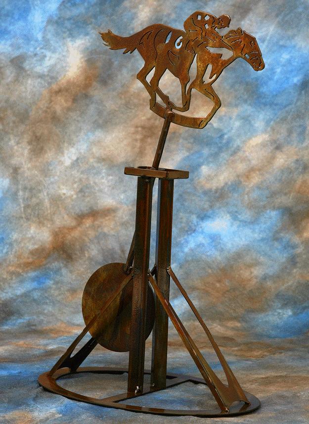Home Stretch Metal Pendulum