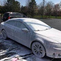 Foam Wax Car Wash