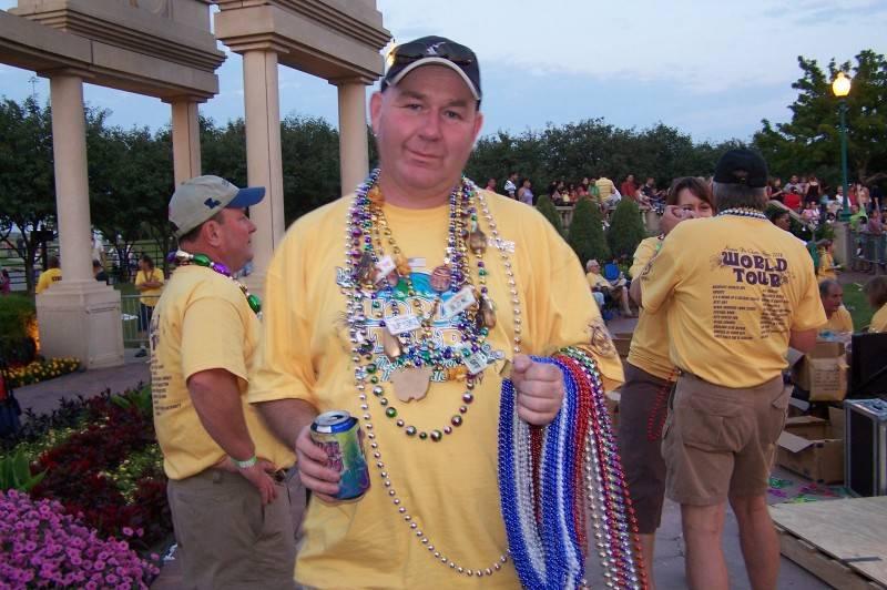 Ready to throw beads
