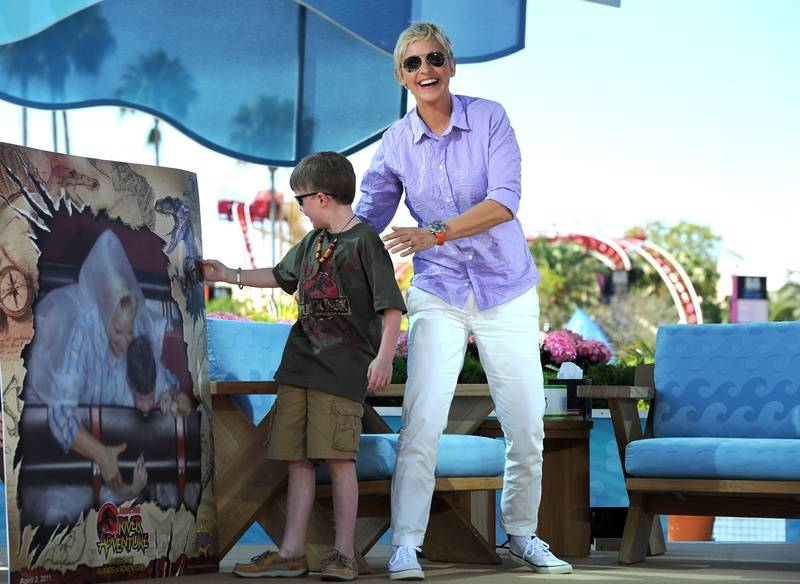 Riley and Ellen in Orlando
