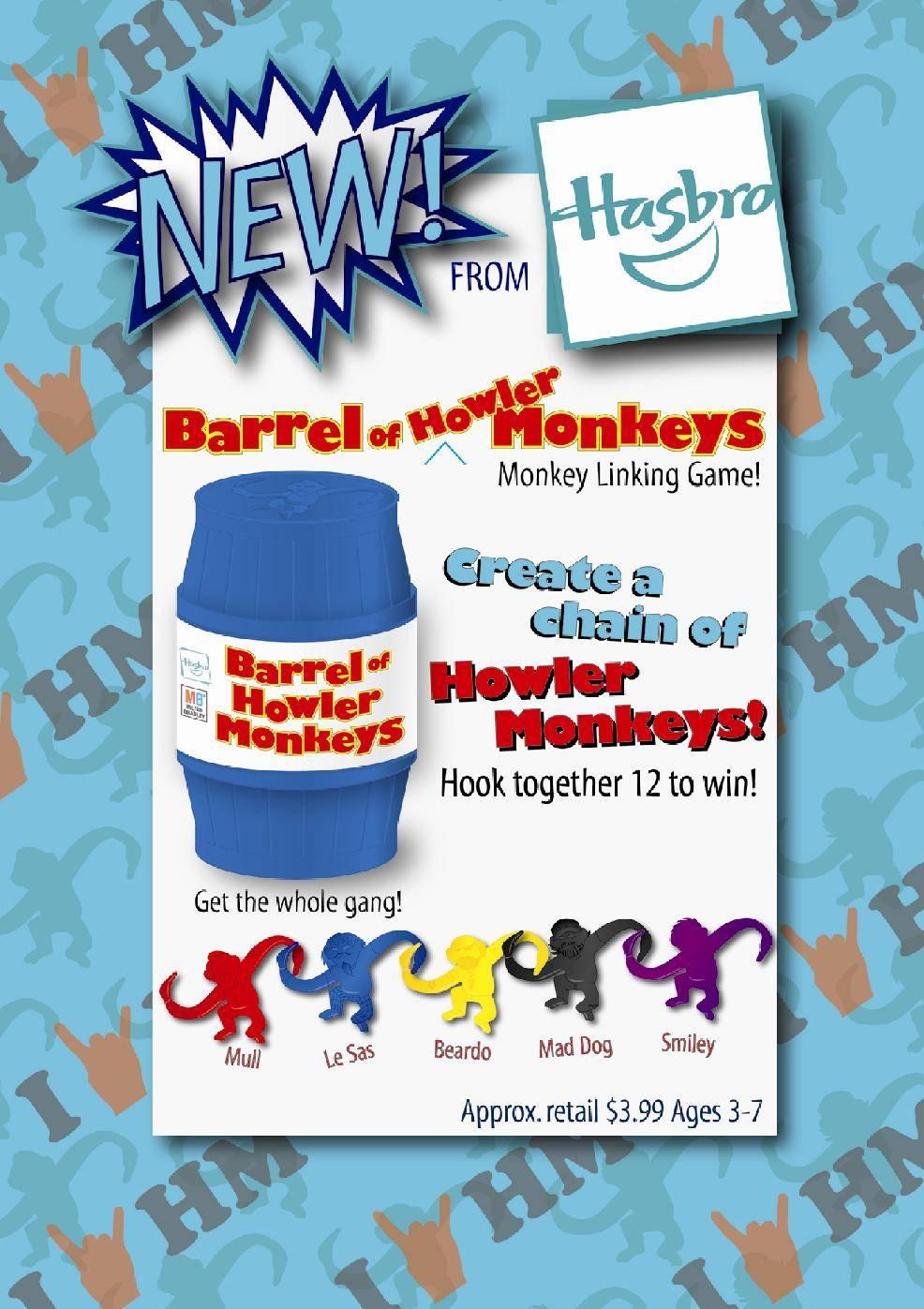 Special Episode 4/2 (57) - 'Barrel of Howler Monkeys' by Cecile O'Mara