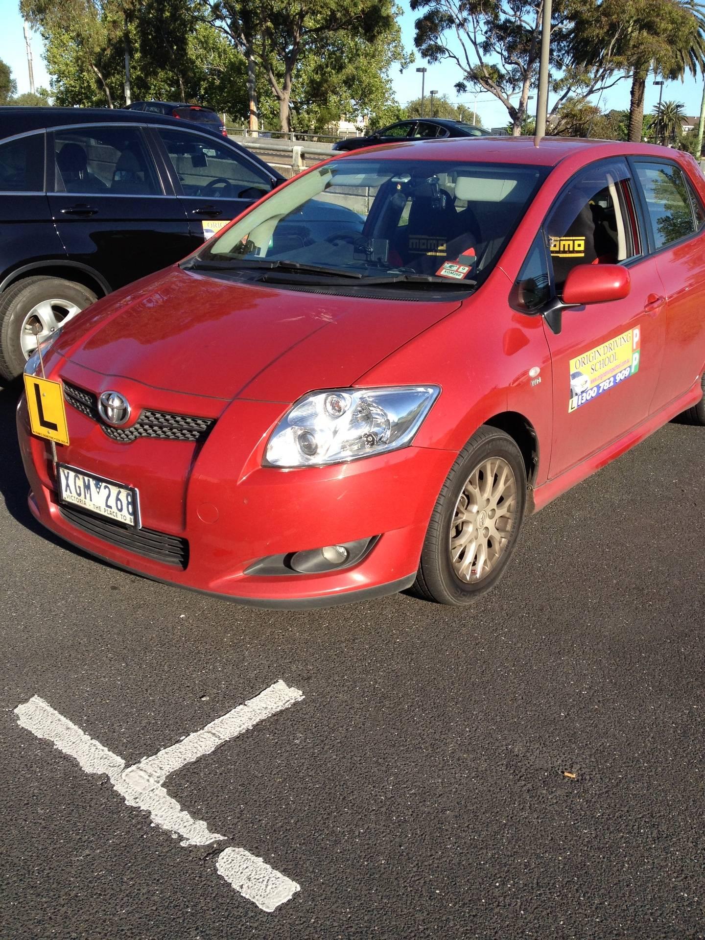 Driving School Niddrie - Toyota Corolla Hatch  - Manual Transmission