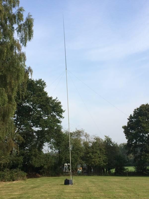G3SED - 80 Metre Vertical