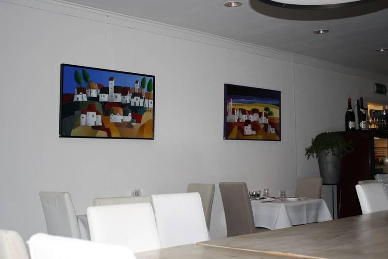 Boerendorpen bij restaurant Les Jumeaux in Bennebroek