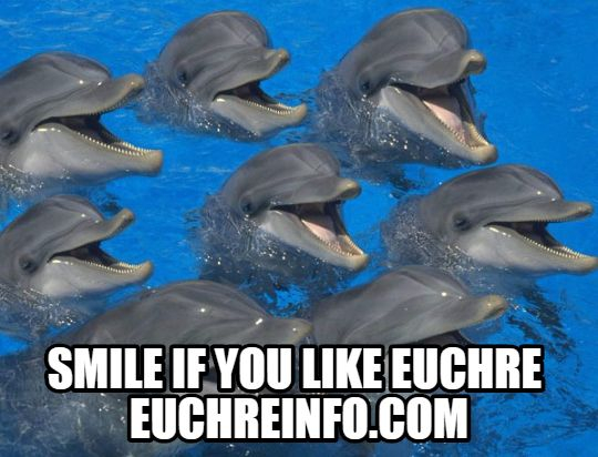 Smile if you like Euchre.
