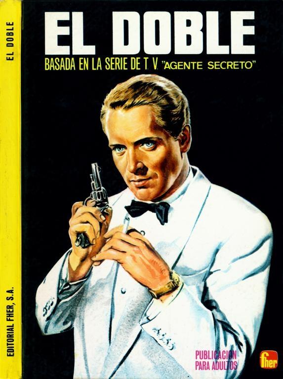 El Doble Basada en la Serie de TV 'Agente Secreto' – Spanish television story book