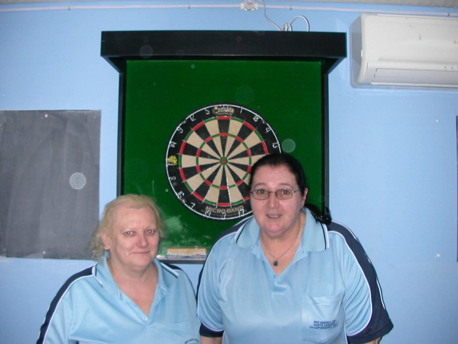 Ladies Doubles R/Up Dot Riley & Josephine O'Neil