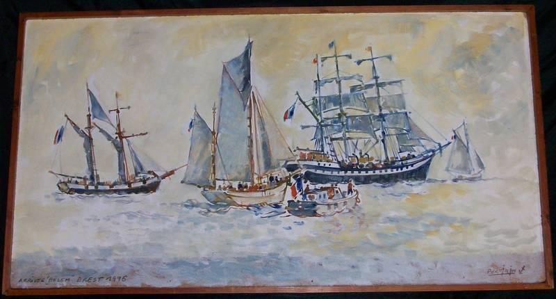 ARRIVEE du  BELEM Brest 1996