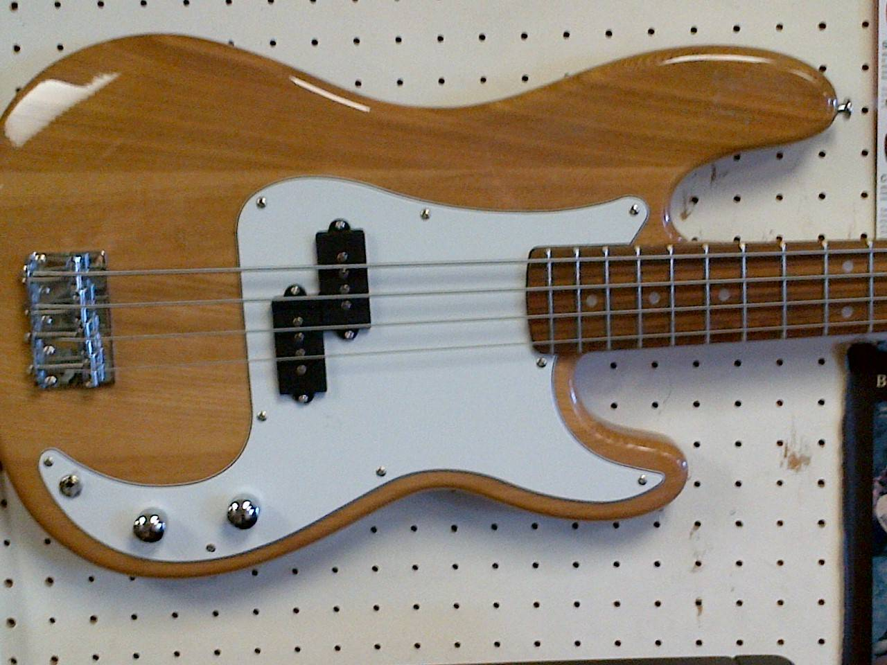 Mansfield 4 string bass guitar
