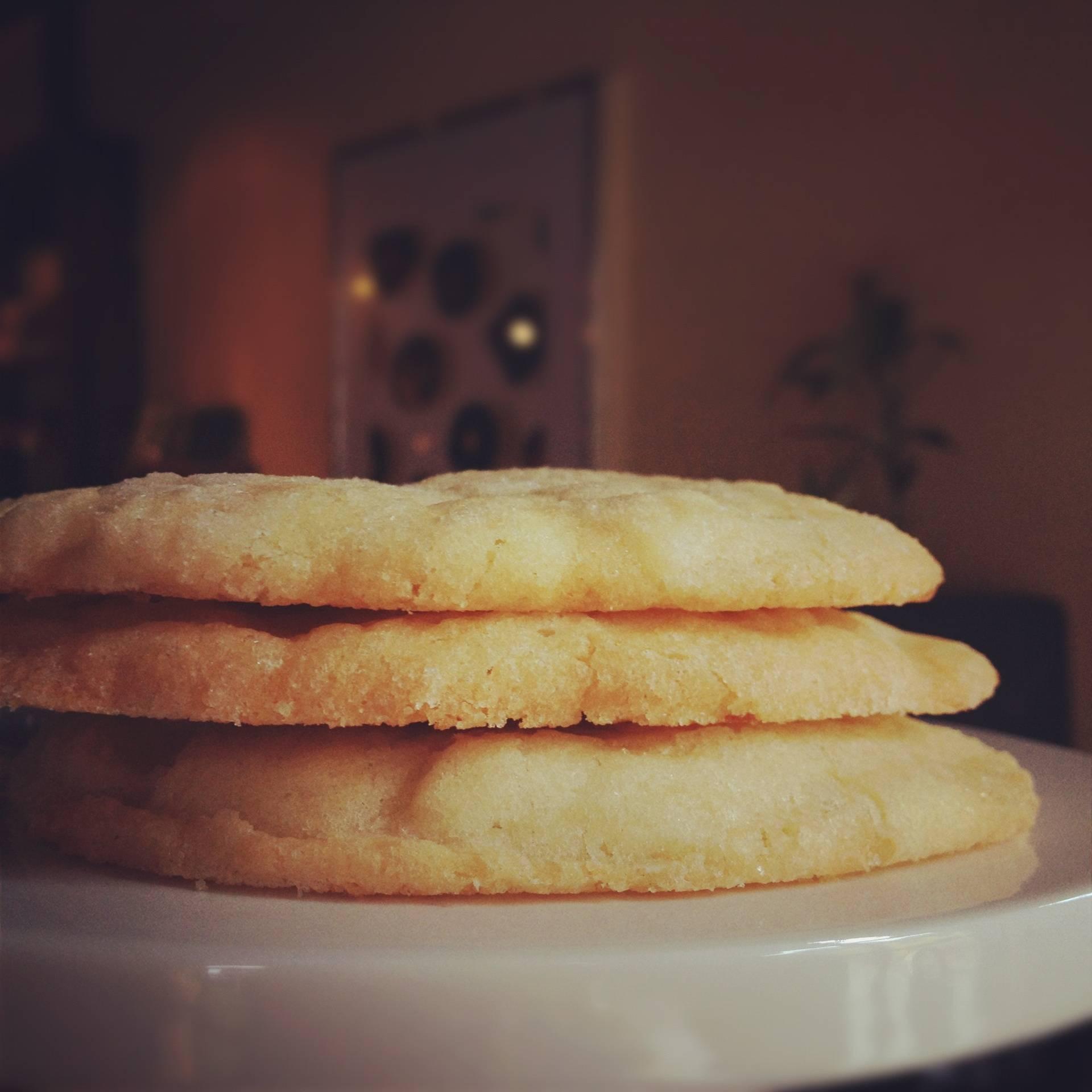 Lemon Twist Sugar Cookies