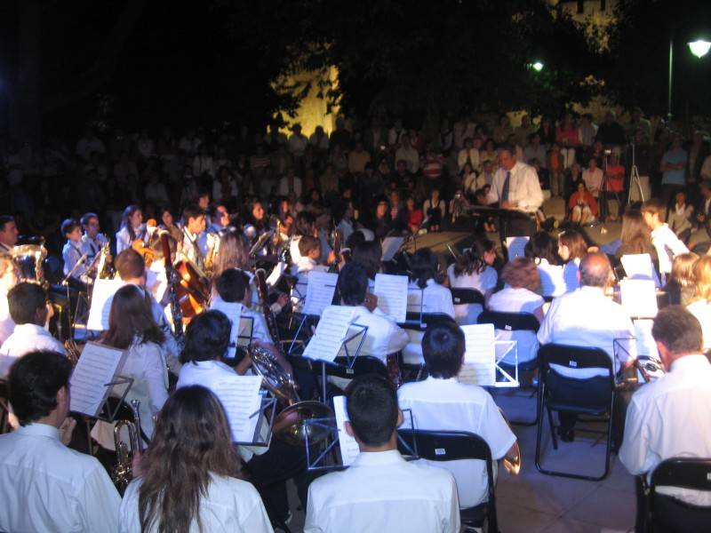 La Banda en concierto