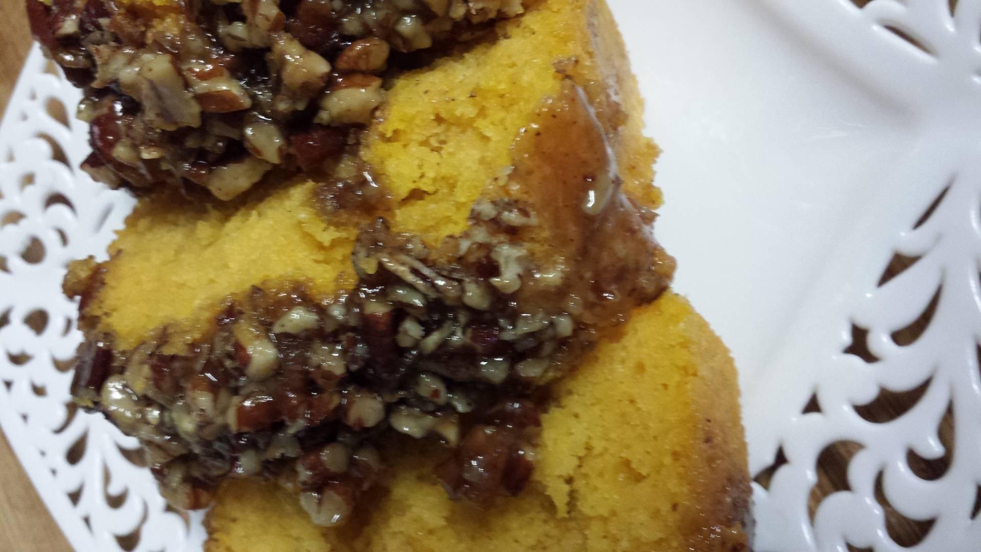 Sweets potato coffee cake