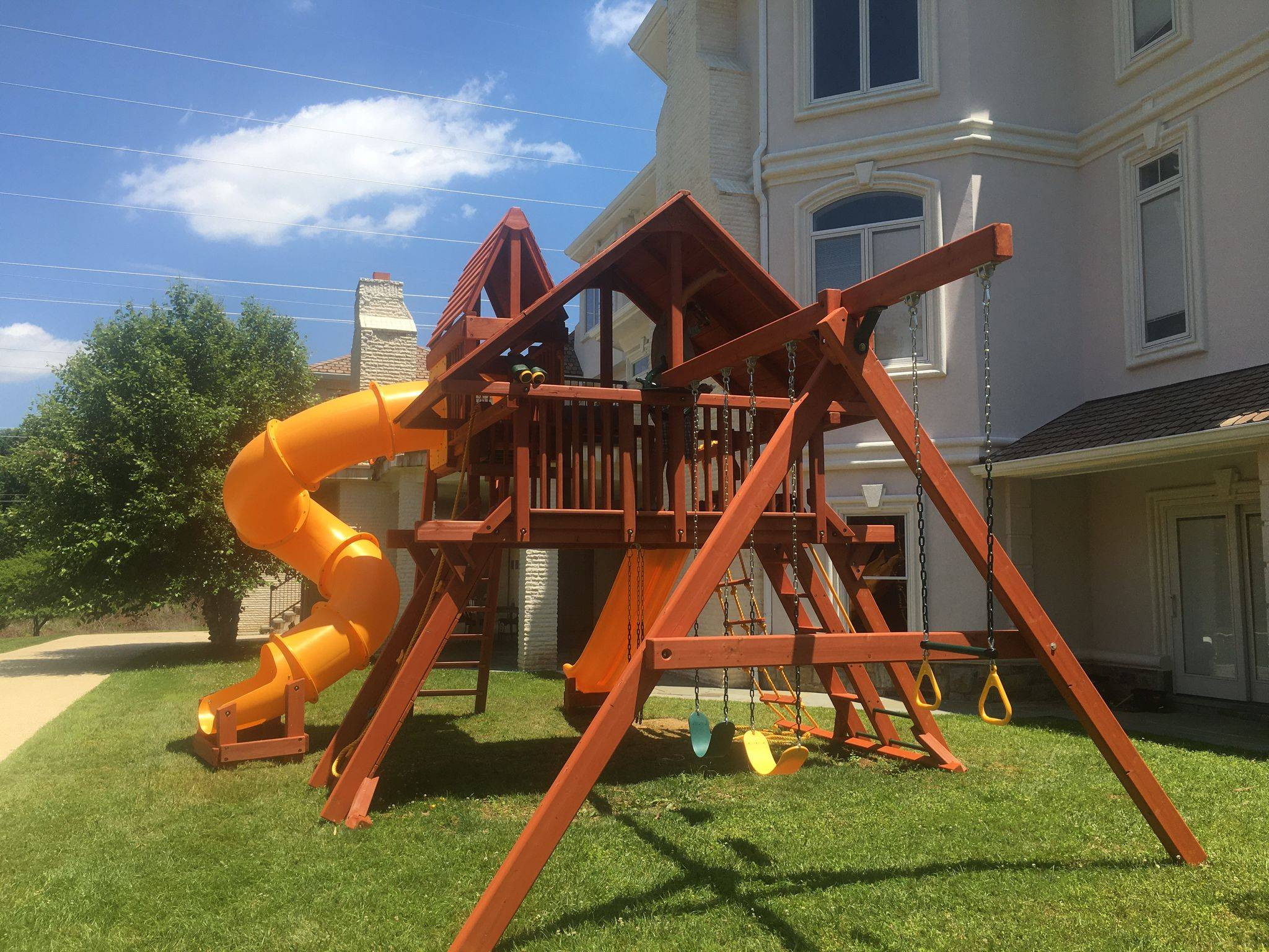 outback swing set assembly in annapolis Maryland