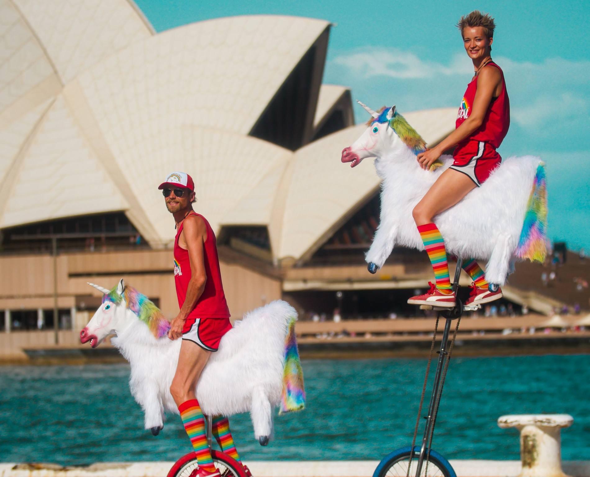 Just cruising around the Sydney Opera House!
