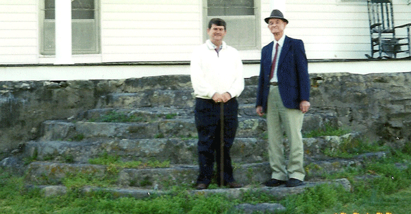 Author and His Father
