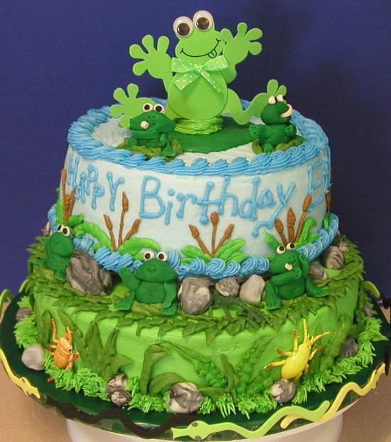 Tiered Frog