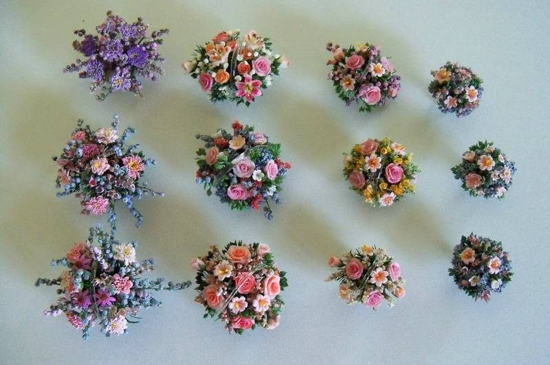 Assorted small centerpieces