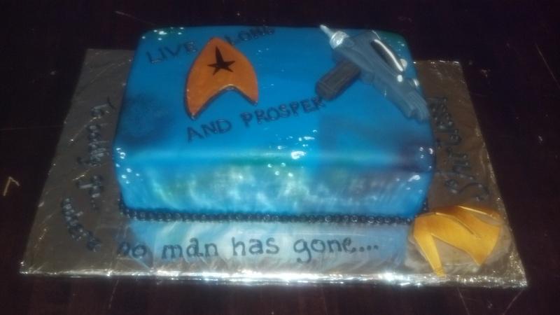 Trekkie Cake