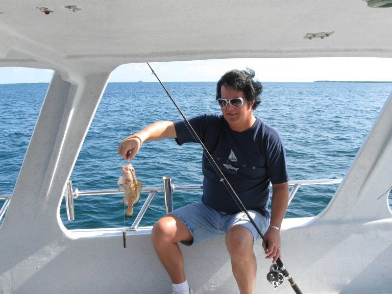 One of Steve's fish
