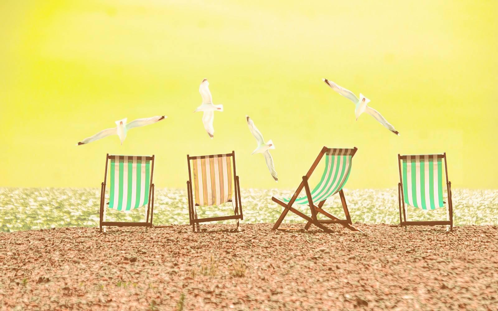 Beach Chairs - Yellow