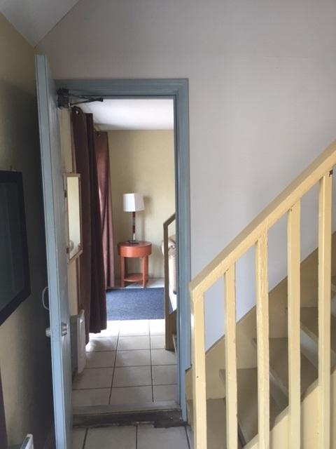 Loft 4 separating door from Loft 3