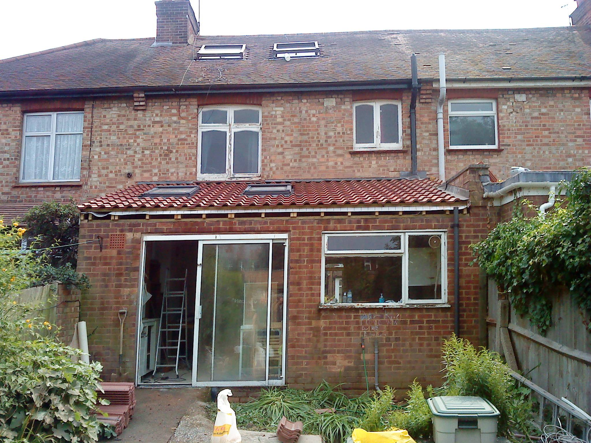 Flat roof conversion