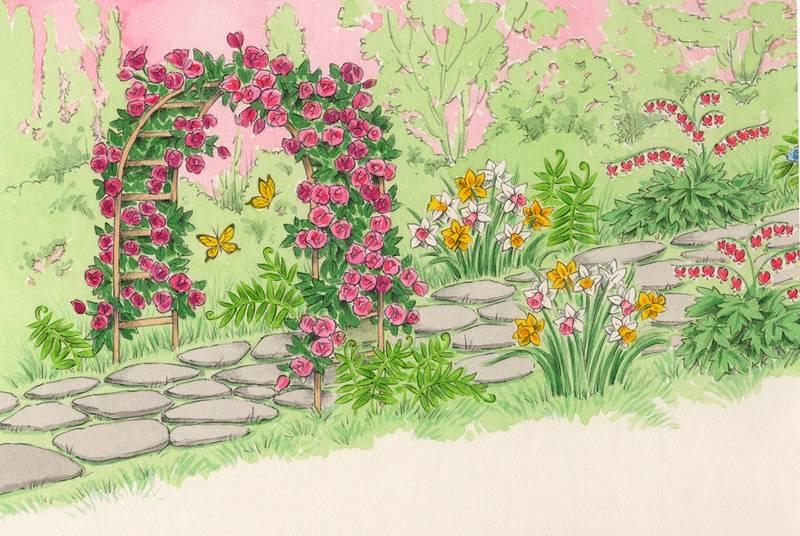 Love Garden Partial spread