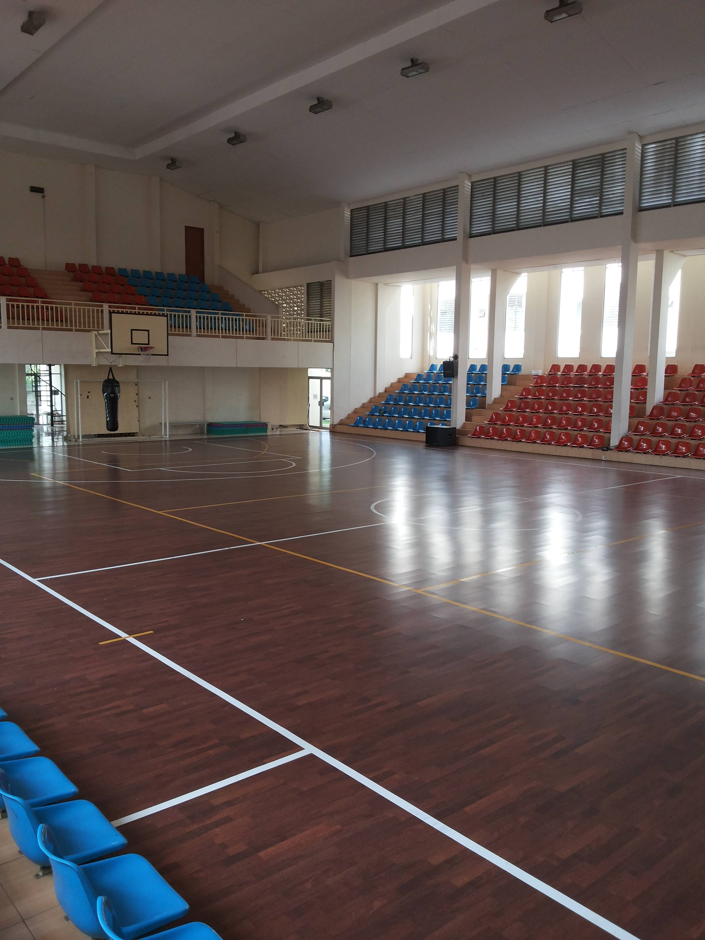 Basket Ball Court Paspampress