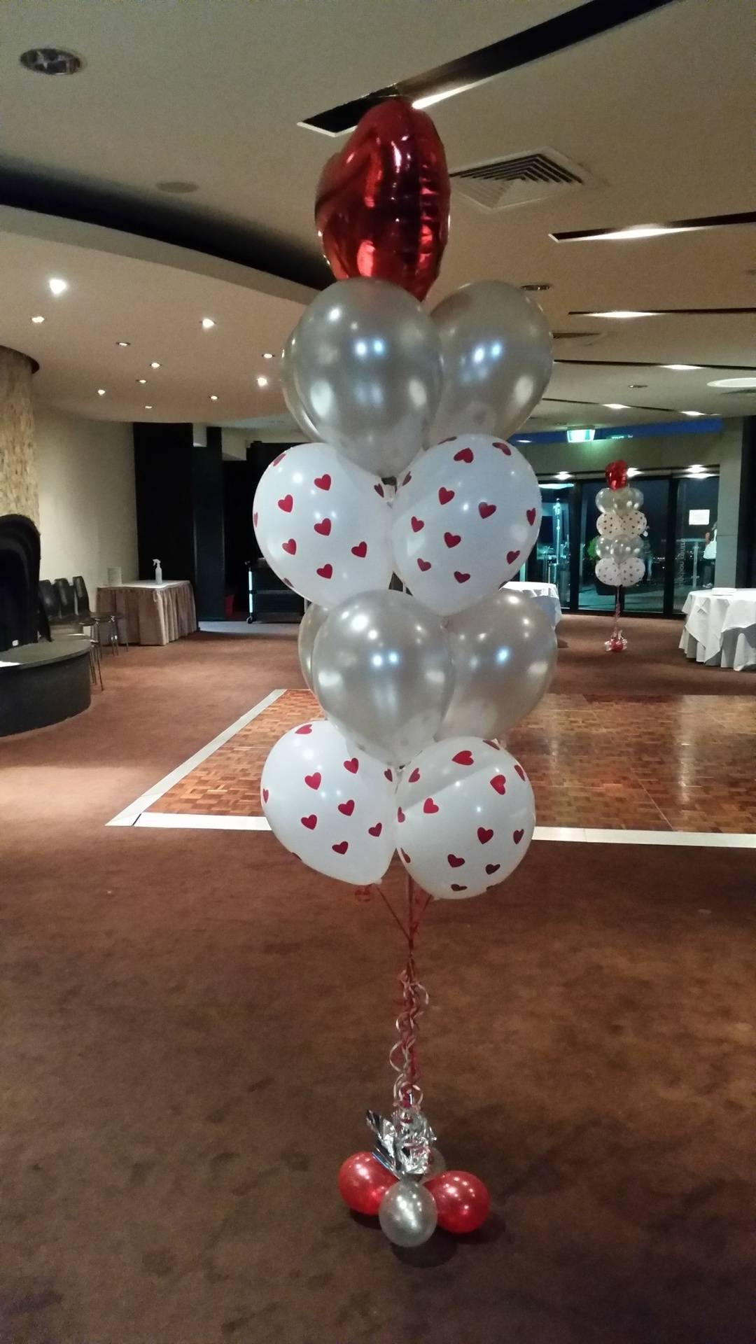 Floorstanding Balloon Bouquet Helium
