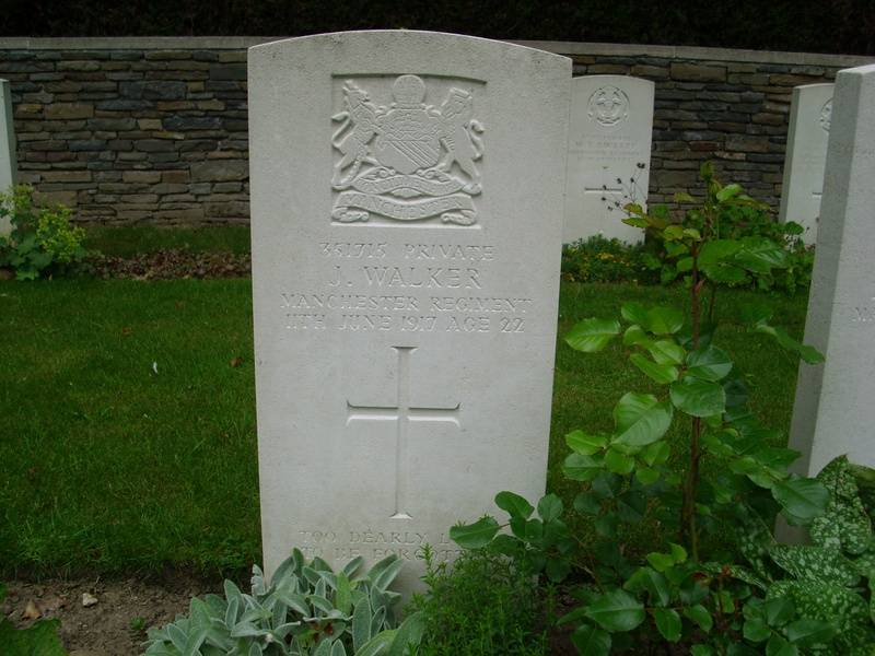 Pte. 351715 JOHN WALKER. 2nd 9th Bn.