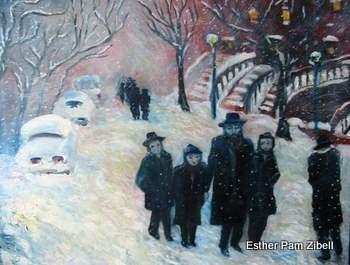 Snow in Brooklyn