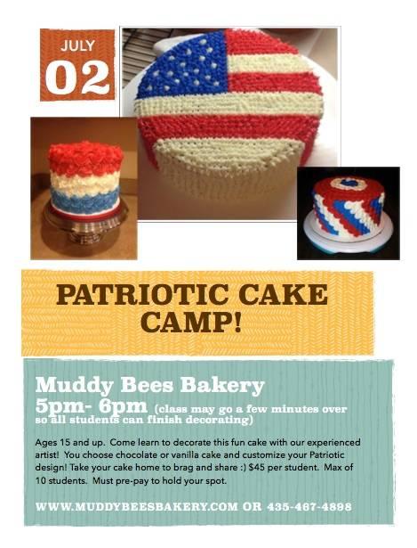 July 2 Cake Class