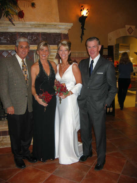 Nat & Mandy w/ the fathers