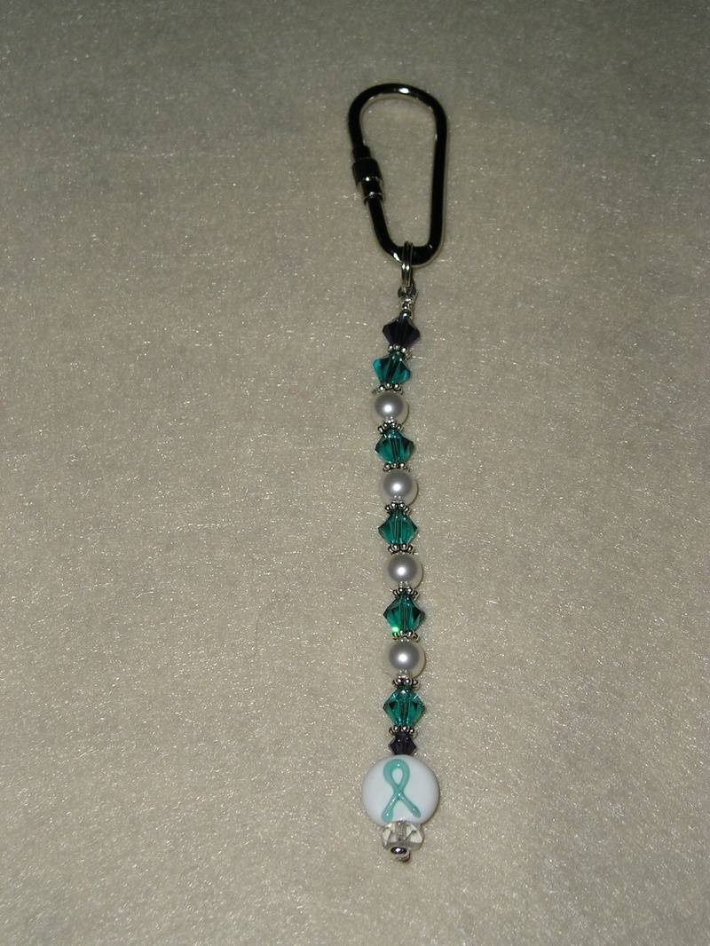 Cervical Cancer Awareness Key Chain (Item #4003)  $10.00