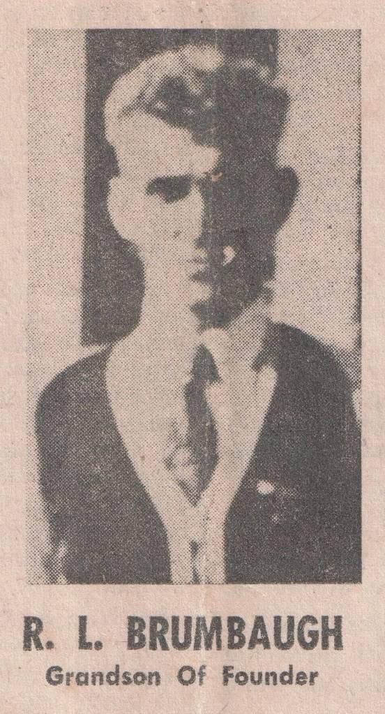 Randall Leroy Brumbaugh (1893-1982)